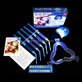 Magic daily need item whitening tooth private logo package teeth whitening kit