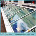 Flat Roof Skylight Glass/Glass Roof/ Glass Canopy Price 1768