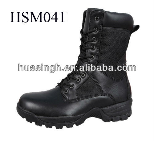 field survival training tactical gear in Genuine leather 2013 military boots