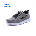 2017 wholesale simple lightweight black grey ERKE brand mens sports shoes running shoes
