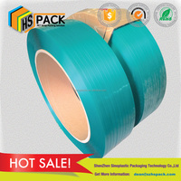 1910 green embossed polyester strap cotton bale plastic packing strap