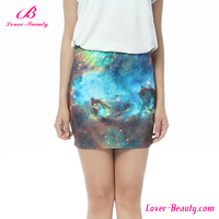 Wholesale Latest Printed High Waist Micro Mini Sexy Bra Skirt