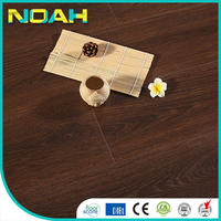 chinese small walnut v groove laminate flooring
