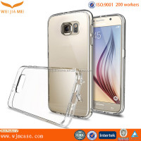 Strong Protection PC Clear Back TPU Bumper For Galaxy S6 Case Manufacturer