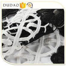 Alibaba China Low Price lace dress fabric embroidery