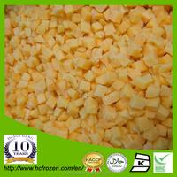 China IQF frozen peach dices in bulk