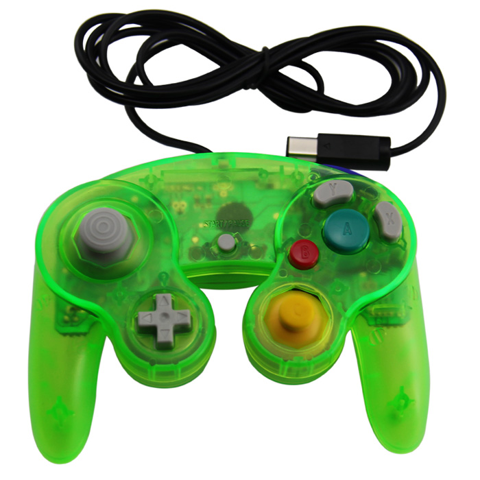 Wired <strong>Controller</strong> FOR NGC/WII for Nintendo Gamecube <strong>Controller</strong> Gamepad Joypad