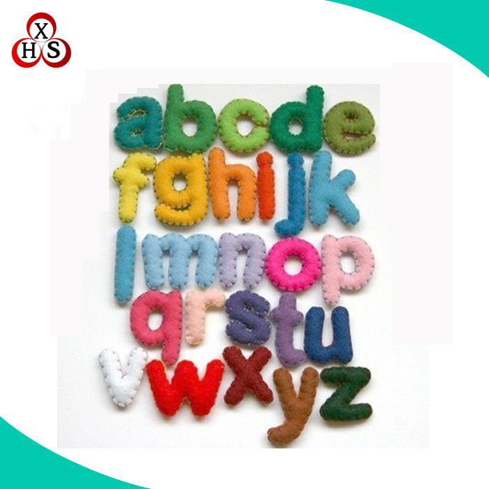 Cheap Price Stuffed Letters Toy For Promotional Gift