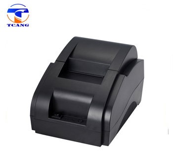 mini portable 58mm pos thermal printer support USB interface