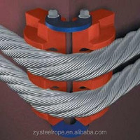 steel cable tray, electrical cable wire 10mm 6x7,6x12,6x19,6x37,8x19 steel wire ropes