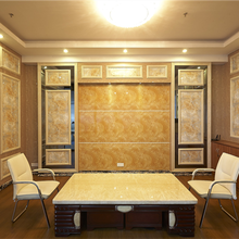 PVC wall decorative panel coverings marble texture UV board for sale