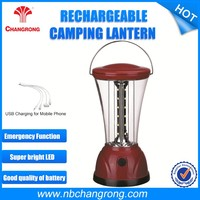 Portable Professional Rechargeable Camping Lantern Lamps