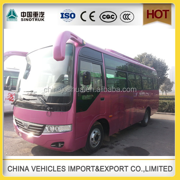 China factory new brand 25 seater city bus for sale