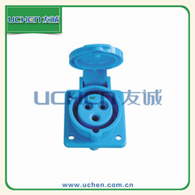 YG ZM-013 Uchen CE approved high and steady waterproof 220v gfci receptacle
