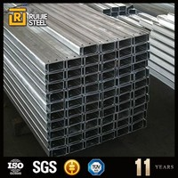 50X25 to 400X50mm C Lipped Channel and Galvanized C Purlin