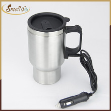 Customized 12v Stainless Steel self heating cup