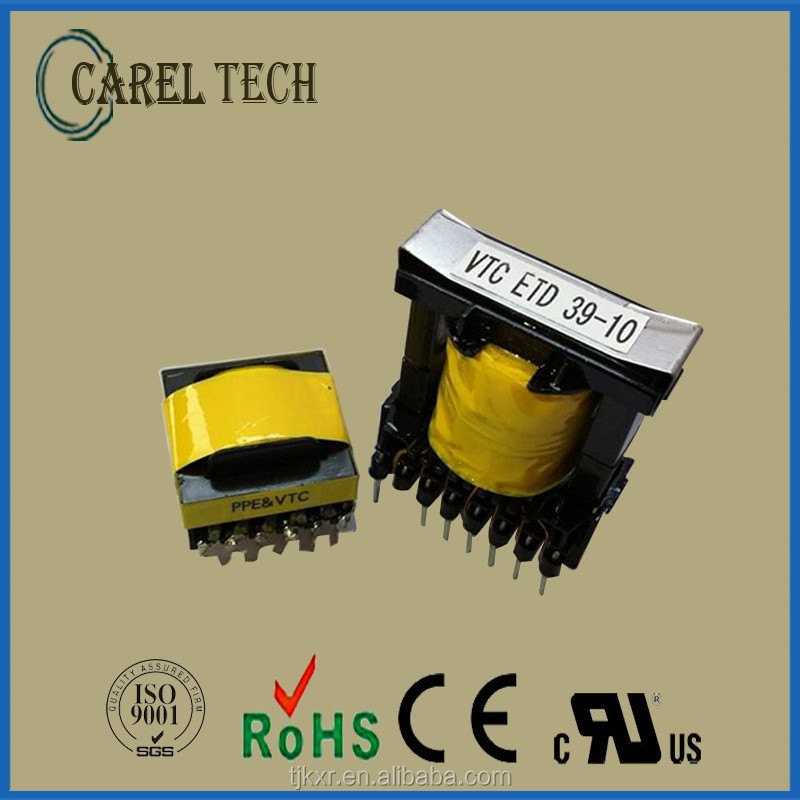 CE, ROHS approved, EE13 high frequency ferrite core mini electronic transformer