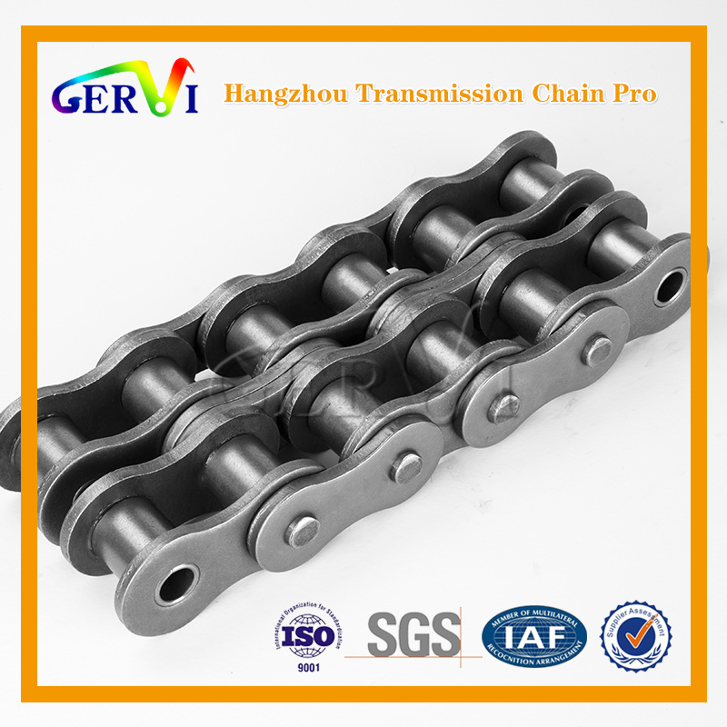 80 100 corrosion resistant double strand roller chains roller chains