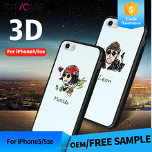 city&case 2016 new products 3d mobile phone case for iPhone 5/5se cover