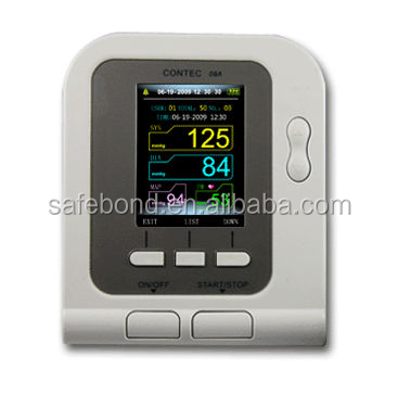 Hot product --sphygmomanometer Color display with software FDA Blood Pressure Monitor