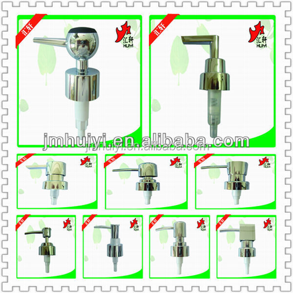 Novelty recyclable plastic liquid soap dispenser pump bathroom lotion soap pump