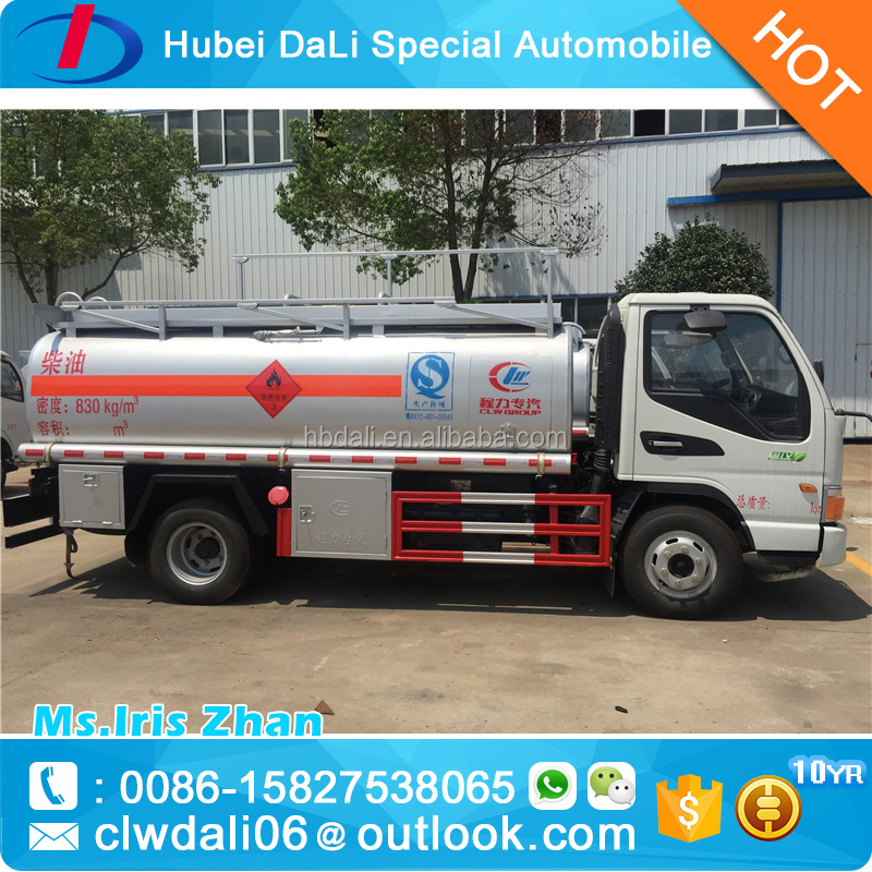 high quality dongfeng 5000l fuel truck