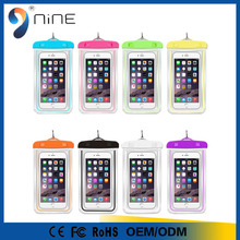 New mobile phone 5.5 inches pvc waterproof bag for iphone 6 plus
