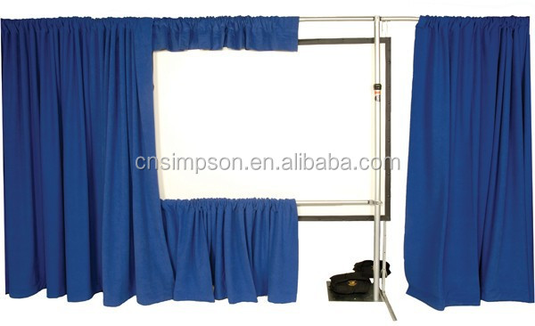 event support or pipe and drape or backdrop stand or aluminum exhibition stand