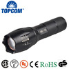 2000 Lumen XML T6 Adjustable LED Flashlight Torch 18650 AAA 5 Modes Aluminum LED Flash Light