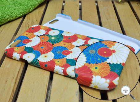 OEM NEW 3D sublimation cover blank case for iphone 6 5.5''