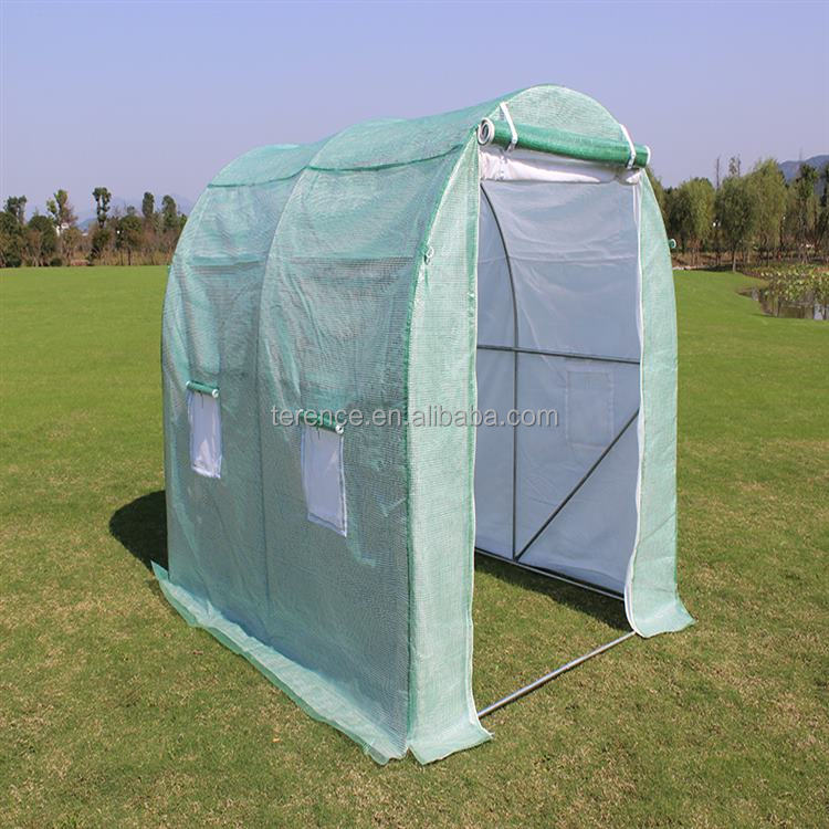 Attractive Design Flower Tunnel Garden Greenhouse Pe Uv Resistant Green House