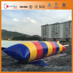 Manufacturer customize ! Amazing Water Games Inflatable Water Pillow Water Blob Jump For Sale