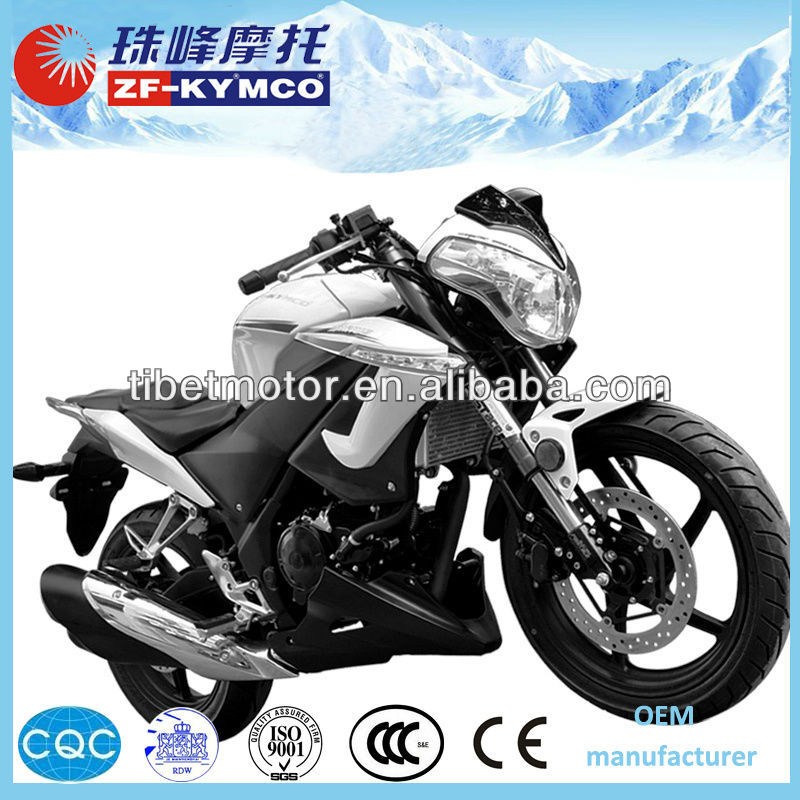 chinese manufacturer zf-ky automatic 250cc racing motorbike (ZF250)