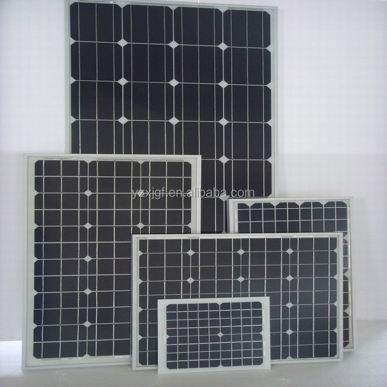 high efficiency solar panels for 60w with CE&TUV