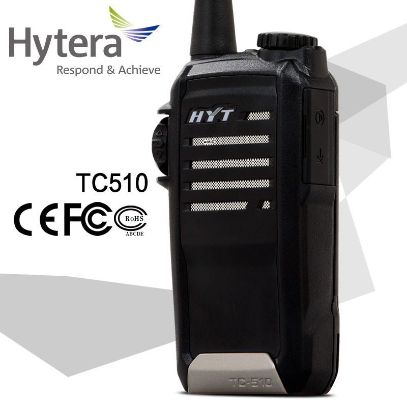 Hytera tc510 mini handy waterproof dual band interphone two way radio