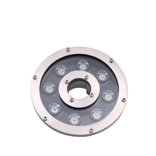 9W 12w Ring RGB led fountain light AC24V
