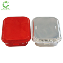 Aluminium foil biodegradable disposable hot pot thermo food container