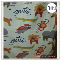 magic printing blackout curtain fabric animal printing curtain for kids curtain China textile supplier