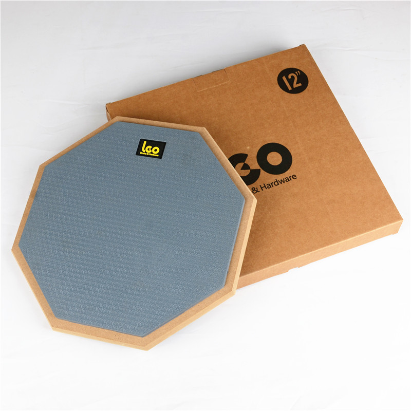 "12"" Rubber Practice Drum Pad"