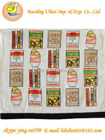 made in china design your own tea towel high margin products