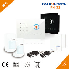 Newest Touch Pad Home Automation System With Simple Setup, Home Mode Automation System GSM G2