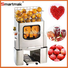 approve CE good quality automatic stainless steel orange juicer machine,fresh squeezed orange juice machine,pomegranate juicer