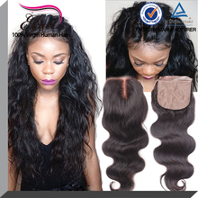 Brazilian Virgin Hair 4x4 Cheap Silk Base Closure,Free/Middle/3 Part Silk Base Closures