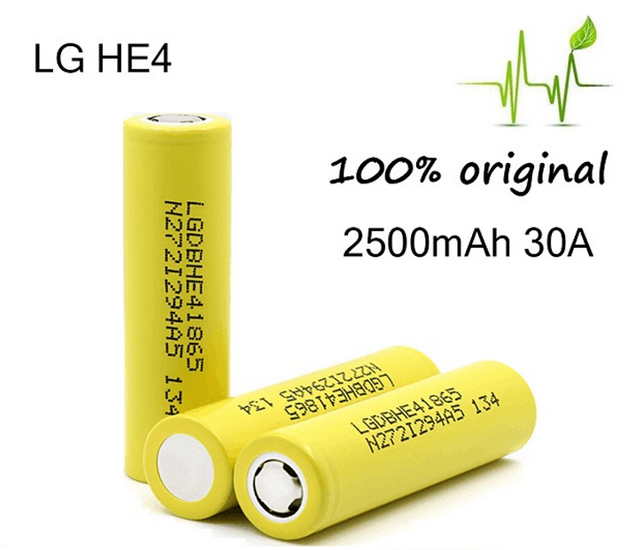 Authentic Lg Battery 18650 3.7v Rechargeable Battery Lghe2/lghe4/lg 2500mah/lg D1/ Lg Mh1/lg Mj1 18650 Li-ion Battey