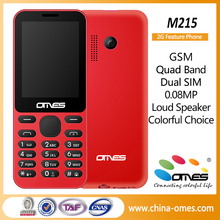 M215 2.4inch TFT screen cheap price cell phone mobile with whatsapp facebook