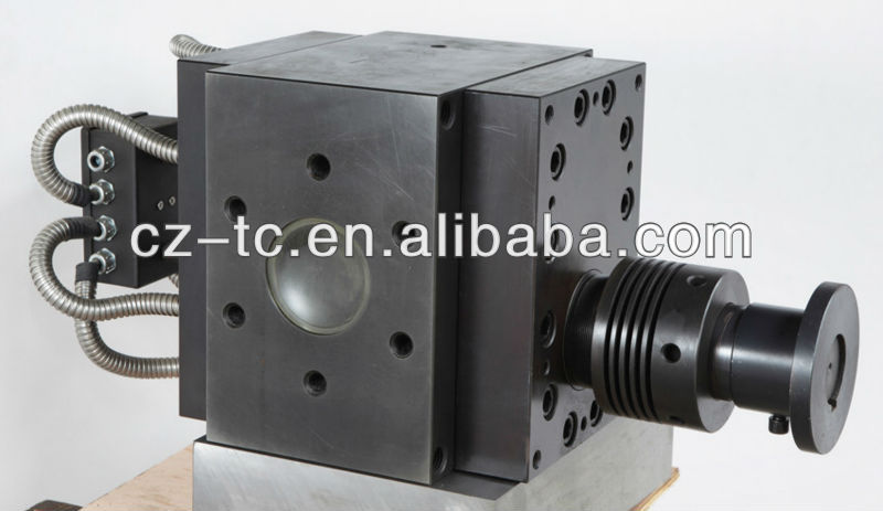 gear pump for polymer extrusion