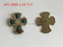 Turquoise conchos wholesale crystal square conchos for leather
