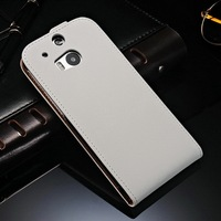 China Manufacturer Custom Design Most Fashionable Stylish Mobile Phone Flip Cell Phone Case for HTC One M8 for Men and Women