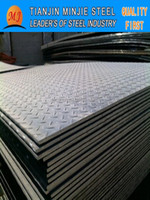 HOT ROLLED CHEQUERED STEEL PLATES TEAR PLATE