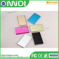 Metal mobile power bank 8800mah, usb Charger for cell phones, Portable Power bank for outdoor